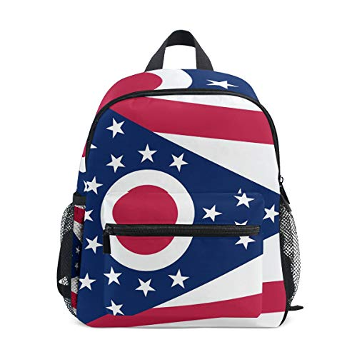 Ohio State Flag Mini Kids Backpack Pre-School Age 3-8 Toddler ()