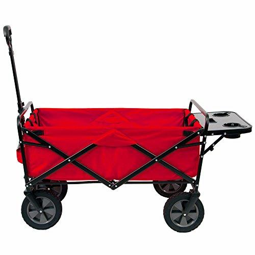 MAC Sports Folding Utility Wagon with Picnic Tray