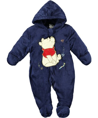 Winnie the Pooh / Disney Baby-boys Newborn Colorful Fleece Pram Set