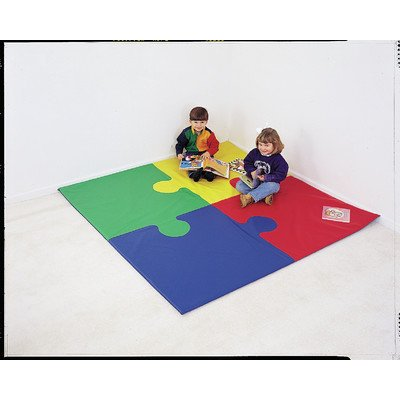 Children's Factory Square Puzzle Activity Mat (Floor Puzzle States United)