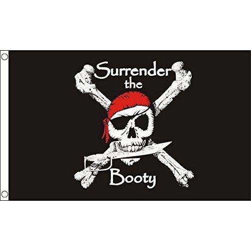 Beryllong Pirate Flag 3x5 Ft Predator Polyester Jolly Roger