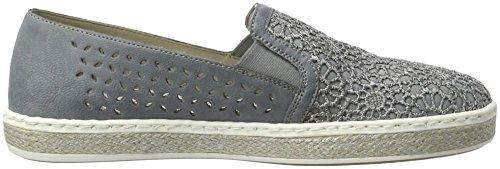 Rieker Womens L.slipper Jeans/adria Jeans/adria