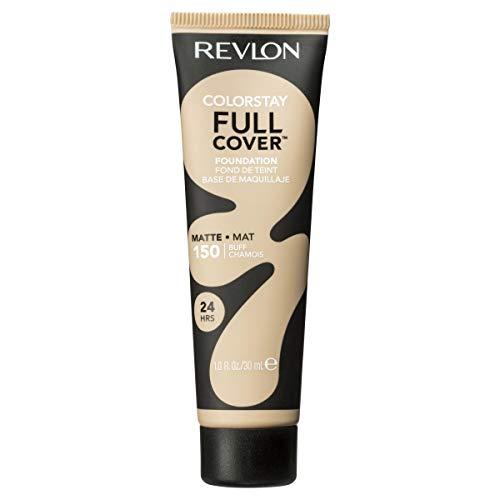 Revlon ColorStay Full Cover Foundation, Buff, 1.0 Fluid Ounce
