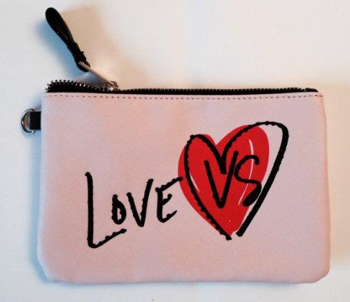 Victoria's Secret Supermodel MakeUp Cosmetic Case Bag Purse Clutch: 9x6.5 inches