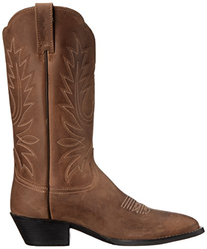 Western Boot Toe Women's Brown Heritage Fashion Distressed R Ariat 1xSawAqf