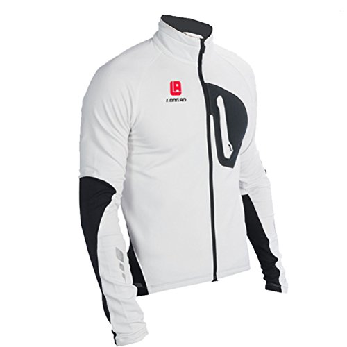 Men's Cycling Long Sleeve Zip With Breathable Cool Quick Dry Jersey Tops Cloth Winter Set - Uk National Costume