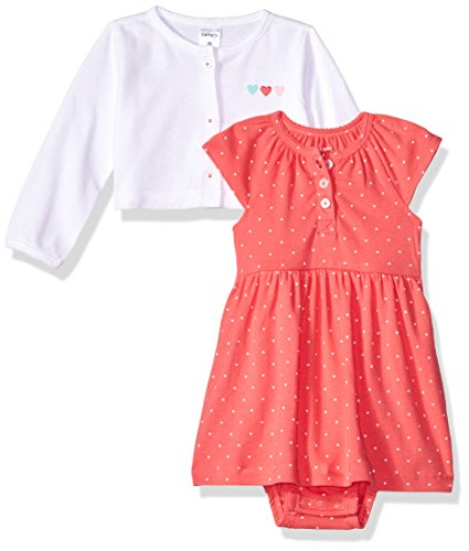 Carter's Baby Girls' Dress Sets 126g285, Pink, 3 Months