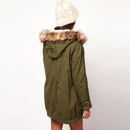 Casual Outwear Slim Gruesa de más Abrigo Chaqueta Largo Invierno Lammy WINWINTOM Mujer Down 7Sqw5O7Y