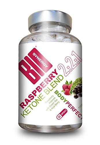 Bio-Synergy Body Perfect Double Strength Raspberry Ketone Blend with Acai and Green Tea - Capsules by Bio-Synergy by Bio-Synergy Ltd