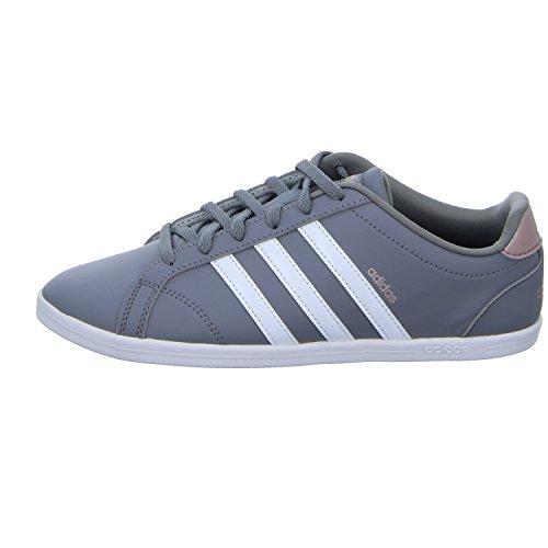 Gris Adidas vapgre Tennis Femme Chaussures grethr De Qt Grethr Coneo ftwwht ftwwht vapgre r477WfY