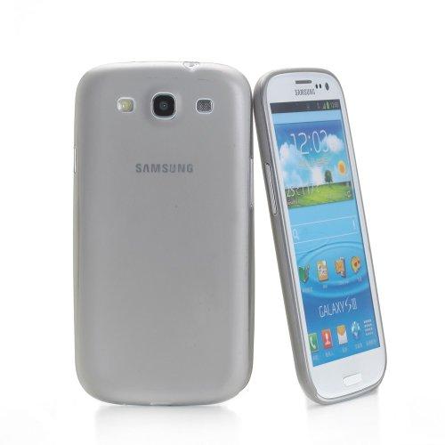 Muvit Ultrathin Samsung Galaxy S III Funda Violeta - Fundas para teléfonos móviles (Funda, Samsung, Galaxy S III, Violeta) Gris