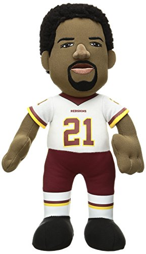 "Bleacher Creatures NFL Washington Redskins Kids Sean Taylor Plush Figure, 10"", Red"