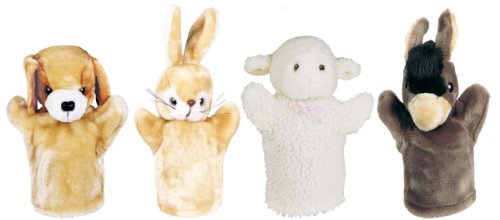 Donkey Puppet (Get Ready Kids Farm Puppet Set: Donkey, Lamb, Puppy and Bunny)