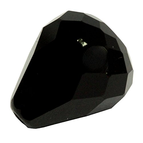 24 12x10mm Adabele Austrian TearDrop Crystal Beads Jet Alternative For Swarovski Preciosa Crystalized Beads 5500#SST-1223 (Swarovski Bead Crystal 5500 Teardrop)