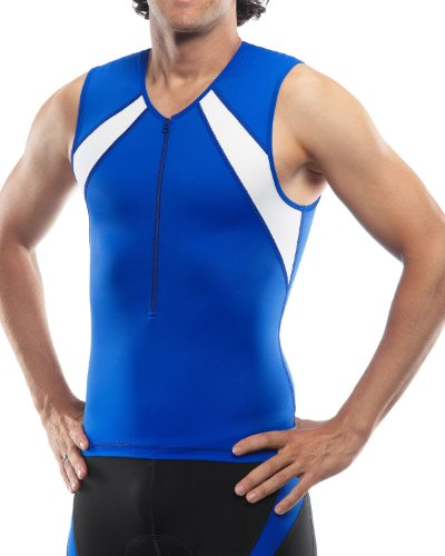 SLS3 FRT 2.0 Race Top, Blue Finch/Icy White, Small