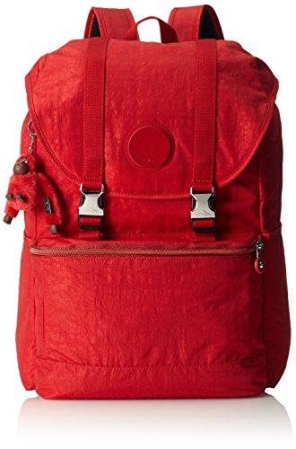 Kipling Experience Large Backpack Red Metal Mix (Backpack Kipling Red)