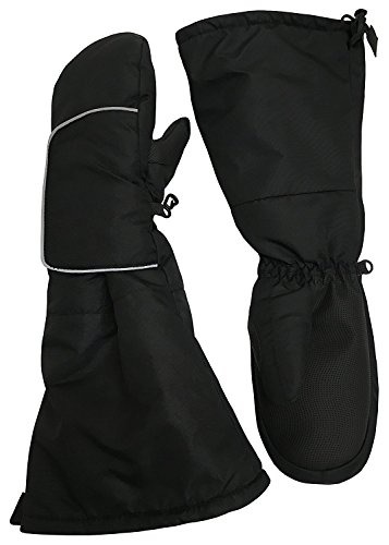 N'Ice Caps Kids Elbow Length Cuff Waterproof Thinsulate Wrap Snow Mittens