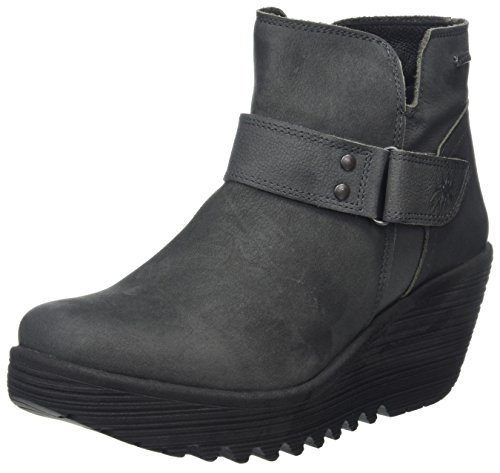 Botas Mujer London YOCK062FLY Tex Grey para Fly Gris Gore YOqaqwI