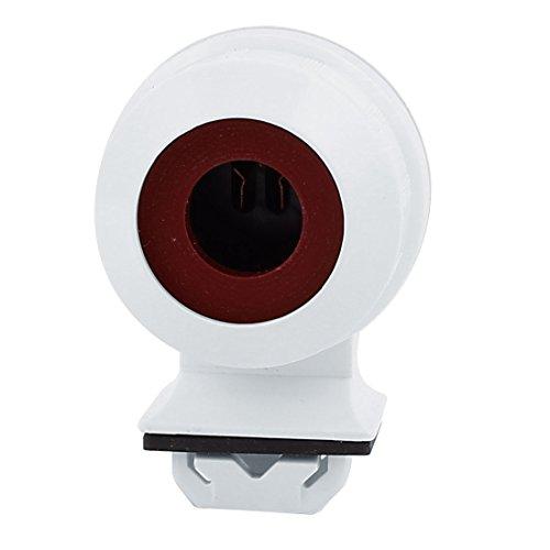 Uxcell a15113000ux1255 T5 Tube Waterproof Bulb Lamp Lighting Socket Base Holder White ()