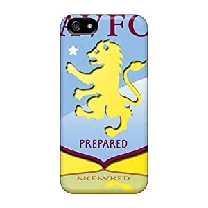 New Shockproof Protection Cases Covers For Iphone 5/5s/ The Popular Club England Aston Villa Cases Covers
