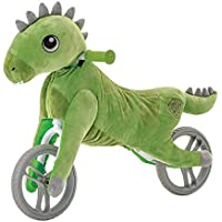 Yvolution My Buddy Wheels Dino Unicorn Horse Balance Bike with Plush Toy | Training Bicycle for Toddlers Age 2 Years…