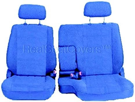 Fine Realseatcovers For Front 60 40 Split Bench A57 Triple Stitched Thick Custom Made Seat Cover For Toyota Pickup 1990 1995 Exact Fit Blue Dailytribune Chair Design For Home Dailytribuneorg