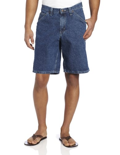 Lee Men's Carpenter Jean Short, Original Stone, 40