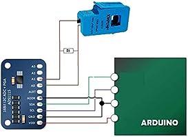 2Pcs SCT-013-000 Non-Invasive Ac Clamp Sensor 100A Current Sensor New Ic cg