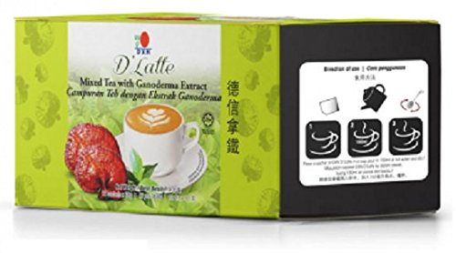 MUST BUY ! 15 Box DXN D' Latte Mixed Tea with Ganoderma Extract ( Total : 180 sachet x 30 g ) by DXN