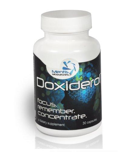 Doxiderol - Le Supplément de cerveau Top Focus, la mémoire et la concentration (30 count)