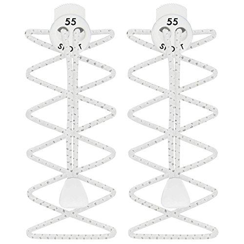 55Sport cintas reflectante altamente elásticas - Reflective White