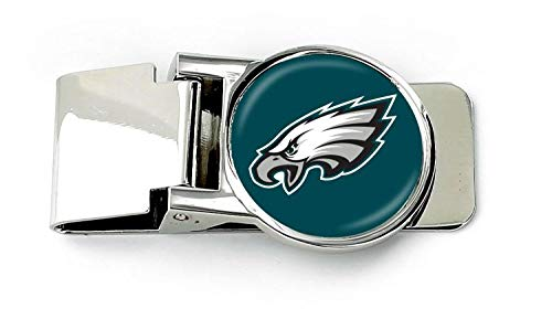 aminco NFL Philadelphia Eagles Unisex InternationalNFL Classic Money Clip, Team Color, NFL-MC-709-24 ()
