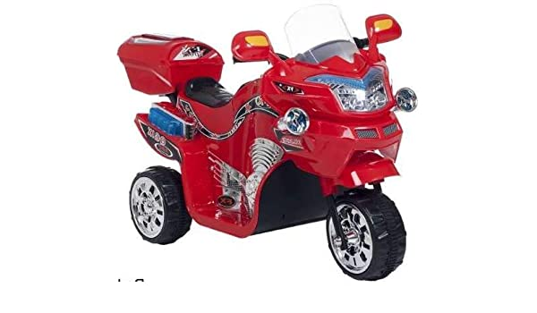 Amazon.com: Motorized Cars For Kids-Red 3 Wheel Motorcycle 6V Realistic Driving Experience for Your Little Ones: Toys & Games