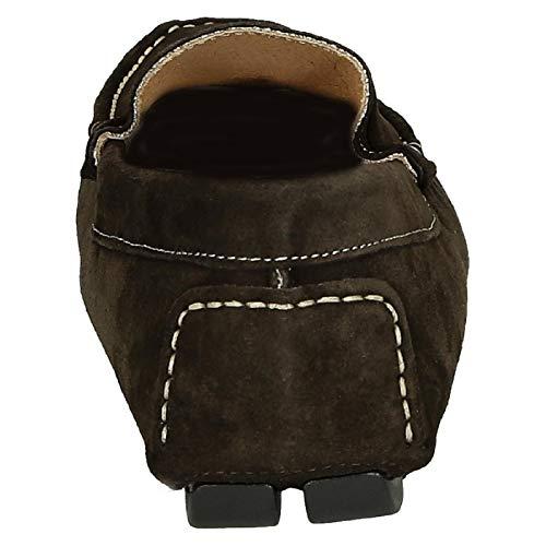 Shoes Uomo Mocassini Leonardo Camoscio Marrone 503camosciotmorotasselli 76vyIbmYfg