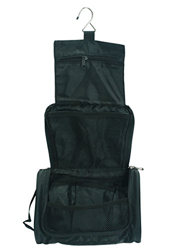 Betz Borsa trucco borsa organizer borsa pochette da viaggio pochette portatrucco borsetta borsa per cosmetica misure 15 x 26 cm colore nero