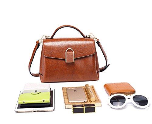 Cuir En Sac Sauvage Paquet Main Sac KYOKIM Messenger FLHT Mode Bandoulière Paquet Red Bag à Business à Décontracté Mesdames qYEZpwX
