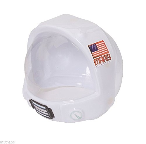 Children's Toy Space Helmet NASA Astronaut Costume Mask Hat]()