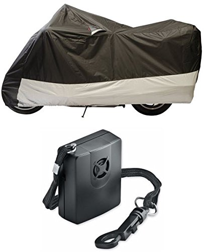 Guardian By Dowco - WeatherAll Plus Motorcycle Cover - XXXL - EZ Zip Cover - with Dowco's Integrated 130 Decibel Alarm System (Motorcycle Cover Weatherall Plus)