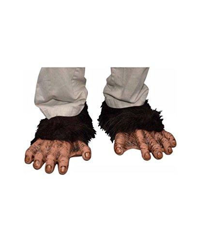 Adult Chimp Feet (Chimp Feet - Costume Accessory)