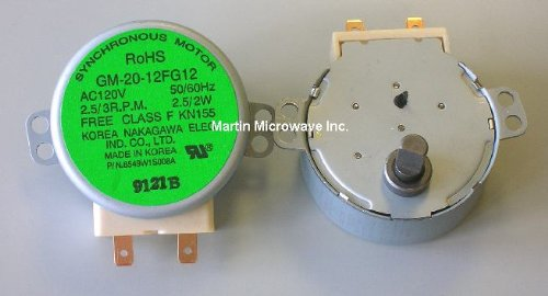 General Electric WB26X10073 Microwave Turntable Motor