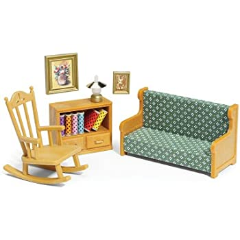 Calico critters living room set toys games - Calico critters deluxe living room set ...
