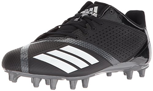 adidas Men's 5.5 Star Football Shoe, Black/White/Night Metallic, 7.5 M US