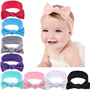 N / A Baby Nylon Headbands Turban Knotted Newborn Infant Toddler Hairbands and Bows Child Hair Accessories