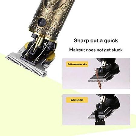 Maquina Cortar Pelo,Cortapelos Hombre Profesional,Maquinilla Cortar Pelo con Pantalla LCD, Recortador Pelo Barba Kit Familia,Carga USB
