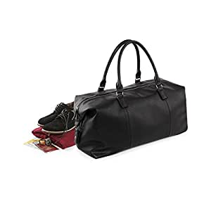 Quadra NuHude Faux Leather Weekender Holdall Bag