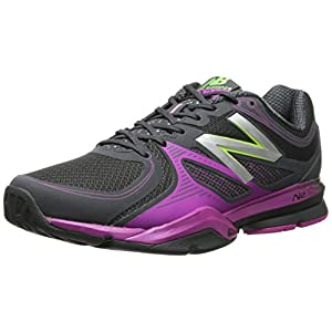 New Balance Women's Wx1267 Training Shoe Training Shoe,Black/Pink,8 B US