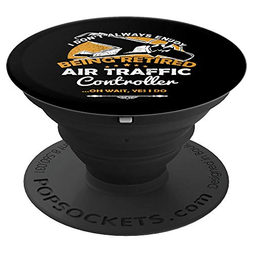 ffic Controller Pilot Pop Socket Grip - PopSockets Grip and Stand for Phones and Tablets ()