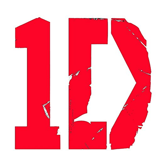 "1D One Direction Logo - Vinyl 3"" wide  decal laptop tablet s"