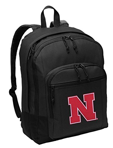 University of Nebraska Backpack CLASSIC STYLE Nebraska Huskers Backpack Laptop Sleeve Nebraska Cornhuskers Laptop Backpack