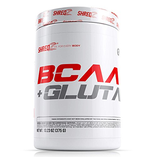 SHREDZ BCAA + GLUTAMINE Building and Recovery Complex - Fruit Punch - 1 Month 10.42oz.